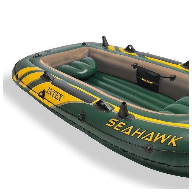 Intex seahawk 3 inflatable fishing boat 68349ep for Seahawk fishing boat