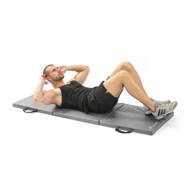 ps-1951-tfm-grey OMA- Prosource Fit Extra Thick Puzzle Exercise Mat 4