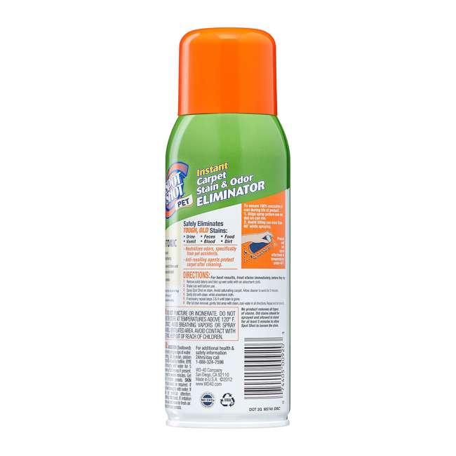 WD-009208 Spot Shot Pet Instant Carpet Stain and Odor Eliminator Aerosol Spray, 14 Ounce 2