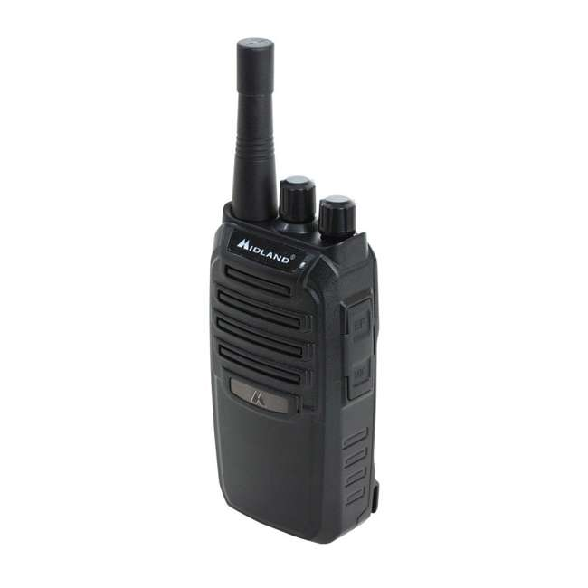 BR200-U-B Midland BizTalk 16 Ch. 2 Way Handheld Walkie Talkie Business Band Radio (Used)