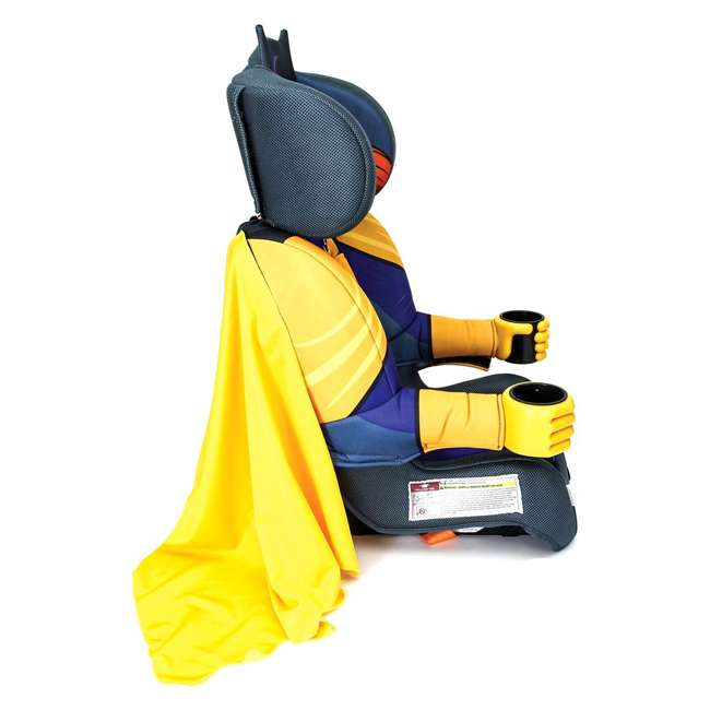 KE-3001BTG Kids Embrace Combination 2 in 1 Booster Forward Facing Car Seat, DC BatGirl 3