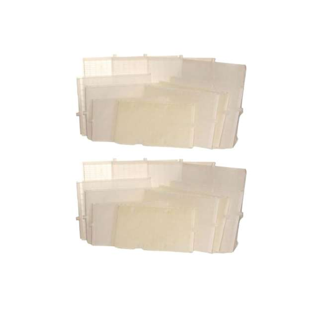 FS3037 Unicel Pool Replacement 7 Full + 1 Partial Rectangular Filter Grid Set (2 Pack)