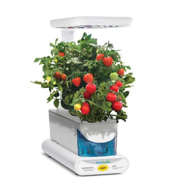 900818-1200 AeroGarden 900818-1200 Sprout LED with Gourmet Herb Seed Pod Kit, White