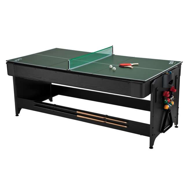 64-1046 Fat Cat 3-in-1 Air Hockey, Billiards, and Table Tennis Table 3