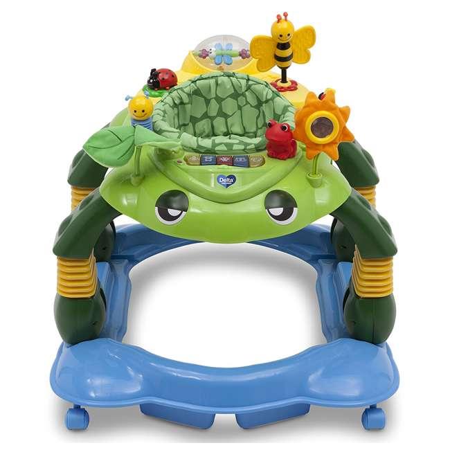 22474-365-U-A Delta Children Lil Play Station Turtle 3-in-1 Activity Walker (Open Box) 2