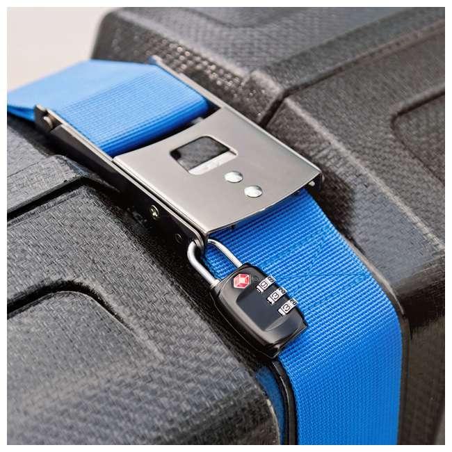 96015 B&W International Hard Impact Resistant Weatherproof Bike Guard Curv Case, Blue 6