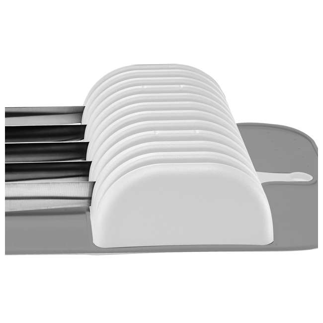 4 x 29002 Madesmart In-Drawer 11 Knife Storage Mat (4 Pack) 5