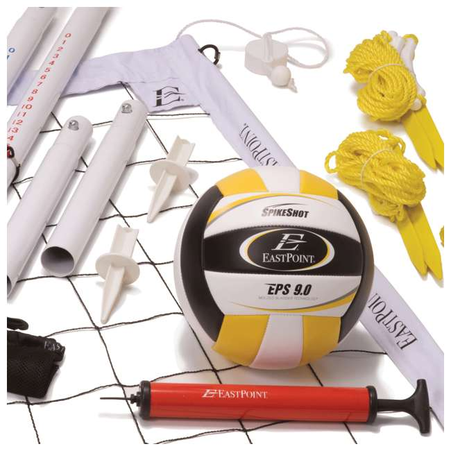 1-1-23212 EastPoint Sports Ultimate Volleyball Net Set 2
