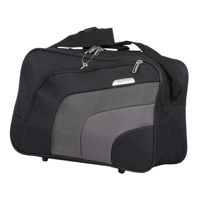 AERO9427 21 + FB9427 BLACK FBA Aerolite Ultra Lightweight Airline Approved Carryon & Under-Seat Suitcase, Black 4