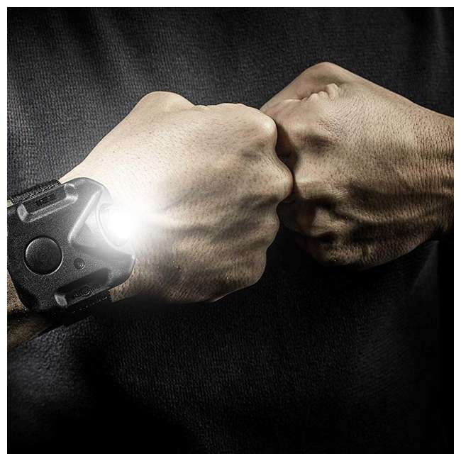2211-A-BK-PLM SureFire 2211 Durable Rechargeable Variable-Output LED WristLight, Without Watch 5