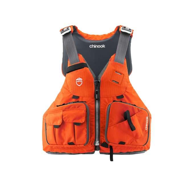 NRS_99999_03_975 NRS Chinook Fishing Life Vest, Small/Medium, Orange