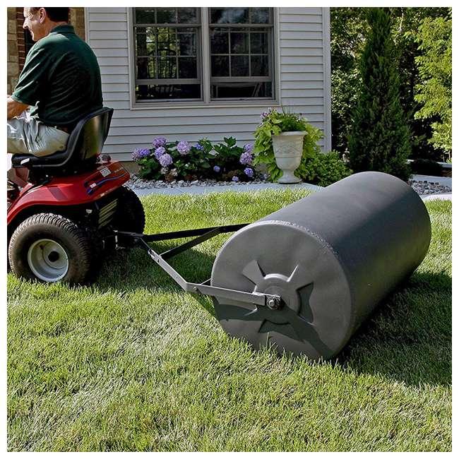PLR1848-U-B Precision Products 18 inch by 48 Inch Poly Lawn Garden Roller, Black (Used)