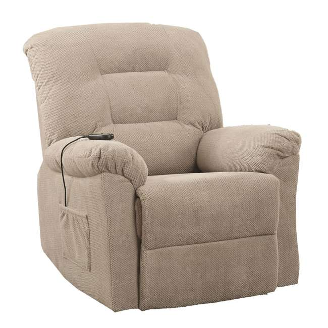 600399ii-U-A Coaster Home Furnishings Power Lift Recliner Chair With Remote Control(Open Box)