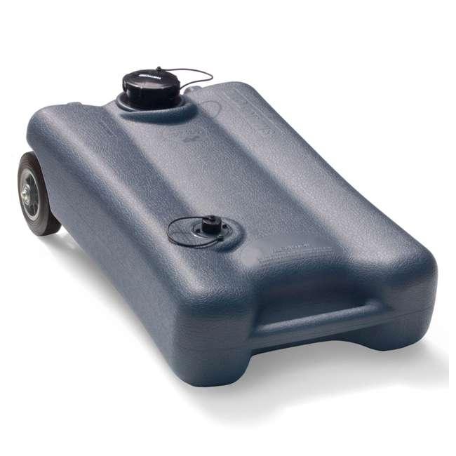 40505 SmartTote2 40505 2 Wheel 12 Gallon Portable RV Sewage Waste Tank Tote Carrier