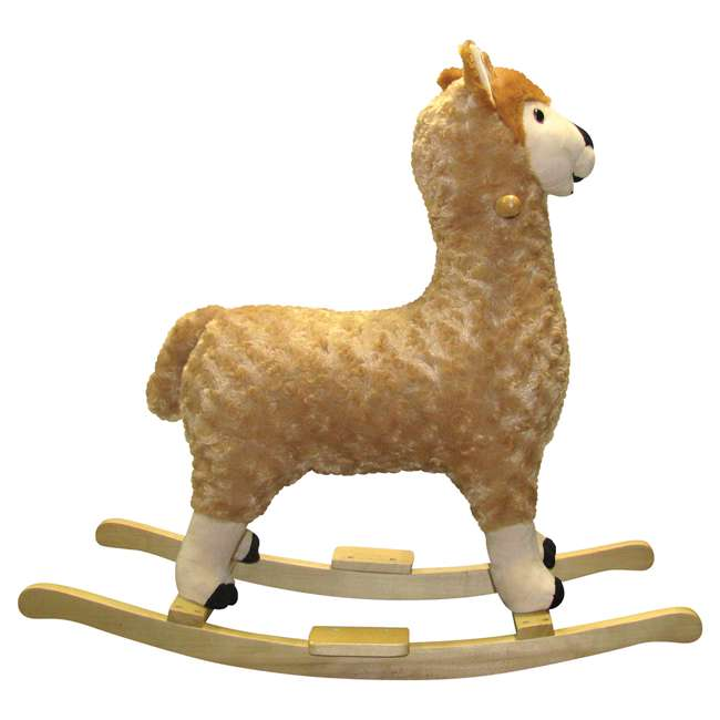82494 Charm Co. Lorenzo Llama Rocker Battery Operated Noises, for 24 Months and Up 2