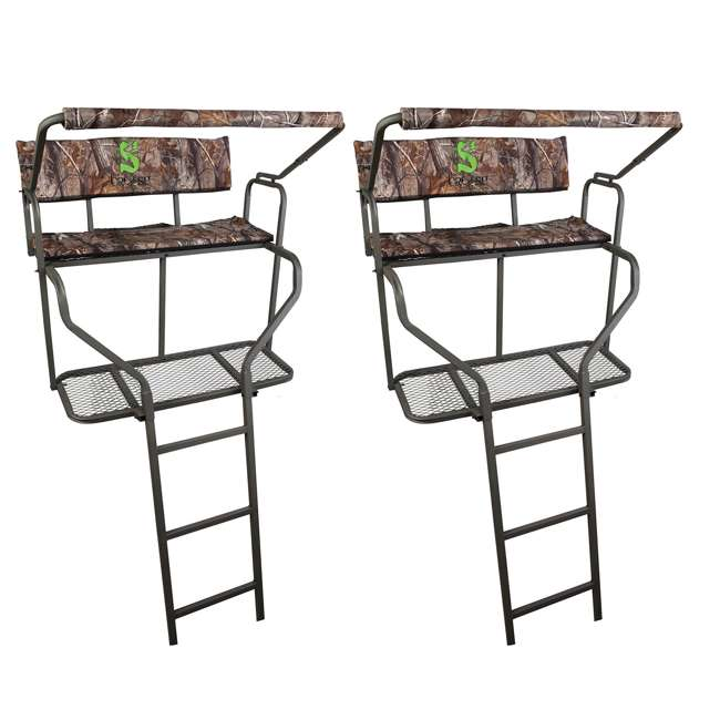 Summit Ladder Stand Crush Series Dual Performer 2 Man 15