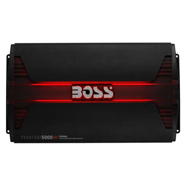 PD5000 Boss Audio PD5000 5000W Mono D Amplifier with Remote 1