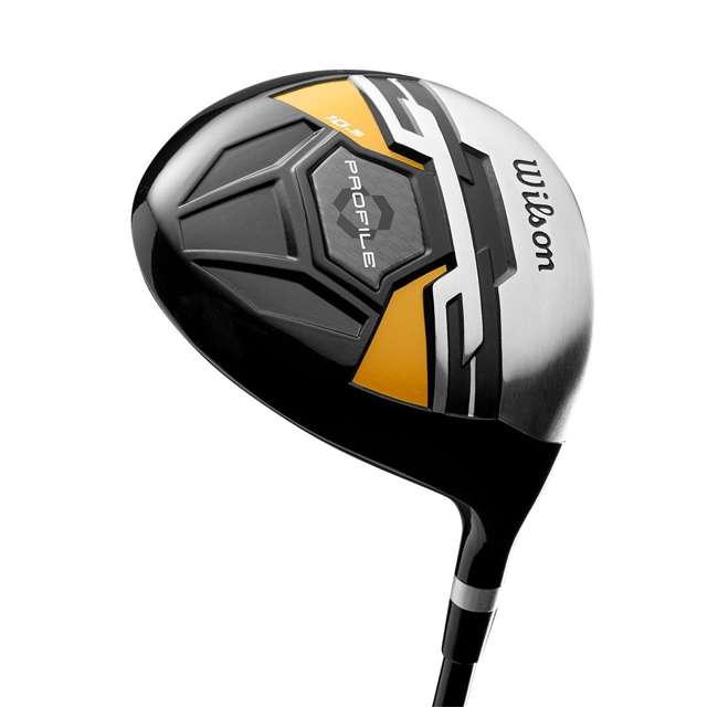 WGGC43700 + GB7-VOICE2-GREY + PGSMGps Wilson Profile XD Clubs, Golf Buddy RangeFinder, Golfwith SmartMarker  2