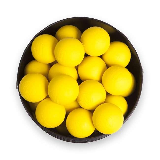 LBYN36 Champion Sports Official Rubber Bulk Lacrosse Lax Balls 36 Count Bucket, Yellow 1