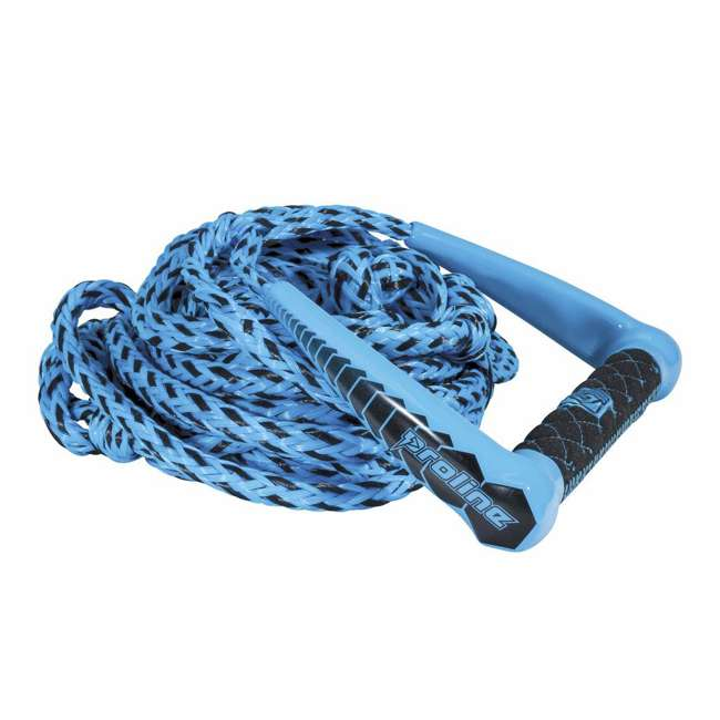85190004-CON Connelly Proline Waterski EVA 75 Foot Diamond Handle w/ 5 Section Mainline Rope
