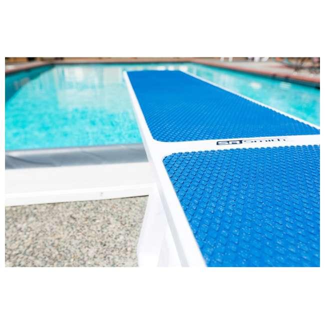 66-209-576S2R S.R. Smith TrueTread 6-Foot Diving Board, Red/White 2