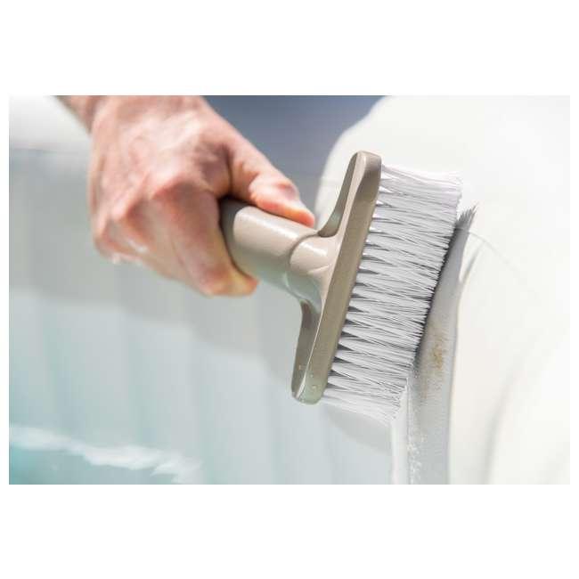 28409E + 28004E + QLC-14890 Intex Pure Spa Hot Tub, Cleaning Kit, & Chemical Kit 10