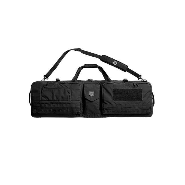 CPG-DB-TA3G-L-B Cannae Pro Gear The Triplex Acies 2 Long Gun and 2 Hand Gun Carry Bag, Black