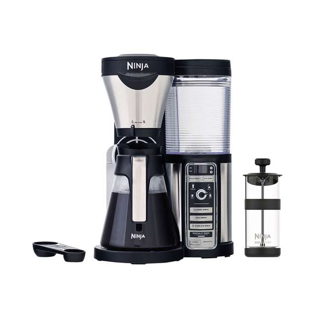CF080QREF_EGB-RB + CBCF090 Ninja CF080 Coffee Brewer & Coffee Bar Recipe Guide (Certified Refurbished) 1
