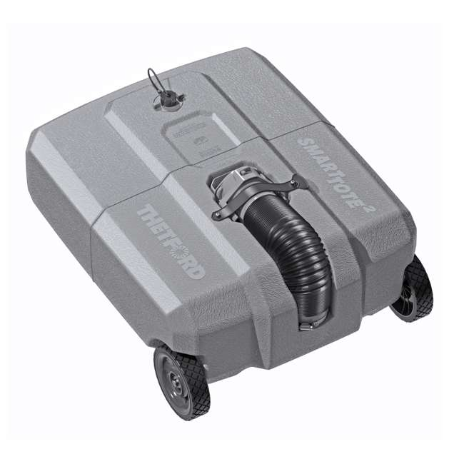 40501 SmartTote2 40501 2 Wheel 18 Gallon Portable RV Sewage Waste Tank Tote Carrier