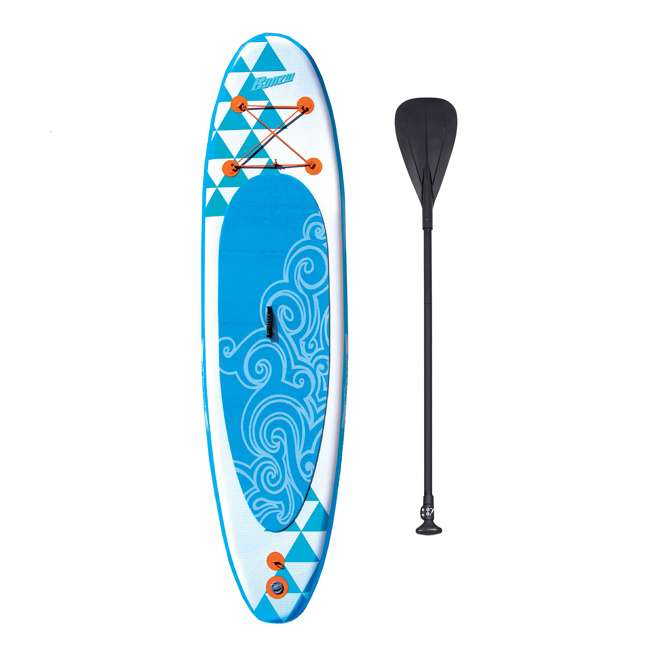 85739 Banzai 10' Inflatable SUP Stand Up Paddle Board Adjustable Paddle & Backpack 6