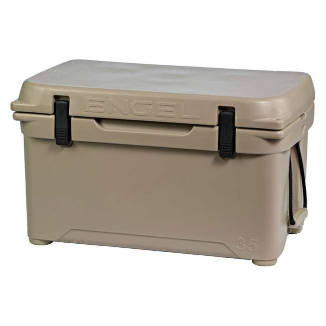 ENG35-T Engel 35 High-Performance Roto-Molded Cooler, Tan