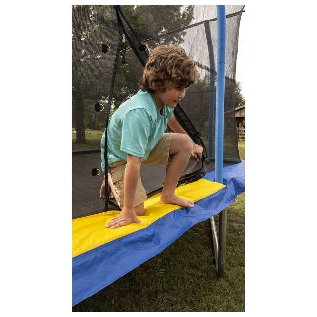 JKRC1014C319 JumpKing 10 x 14 Foot Enclosed Rectangular Trampoline  4