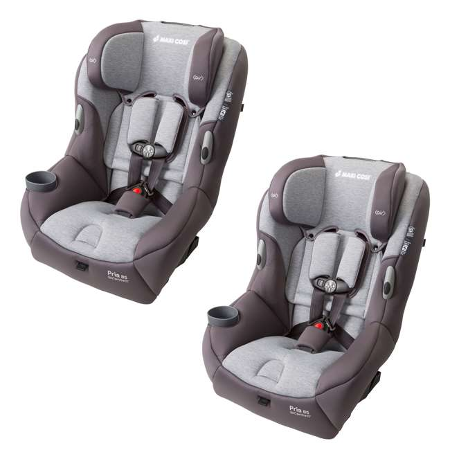 CC121CTF Maxi-Cosi Pria 85 Convertible Car Seat, Loyal Grey (2 Pack)