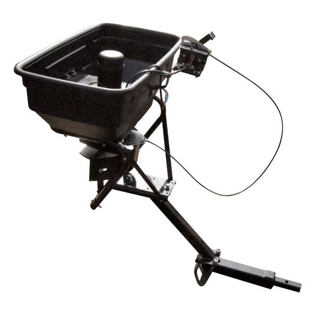FIELD-AS-125ATV12 Field Tuff 12V ATV Hitch-Mount Grass, Seed, and Fertilizer Spreader