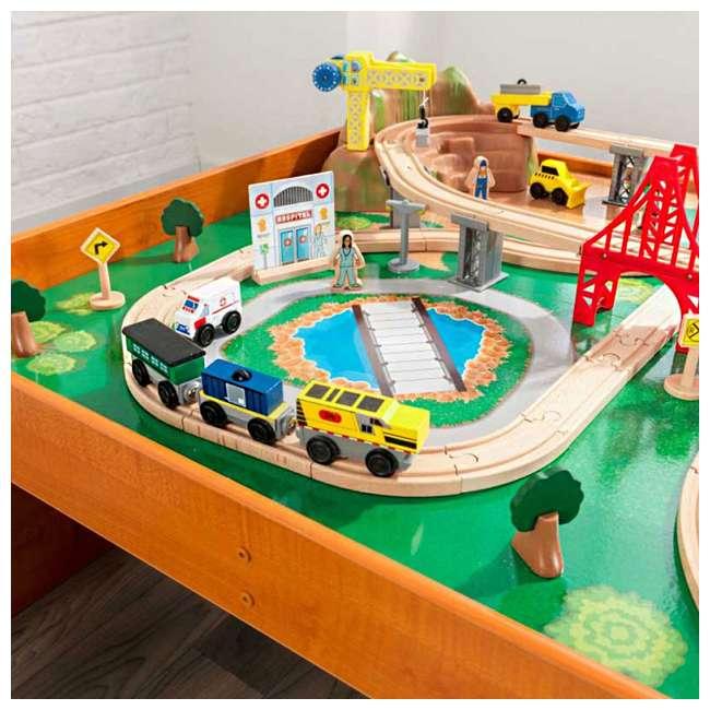 KDK-18025-U-A KidKraft Adventure Town Railway Play Set & Table w/ EZ Kraft Assembly (Open Box) 4