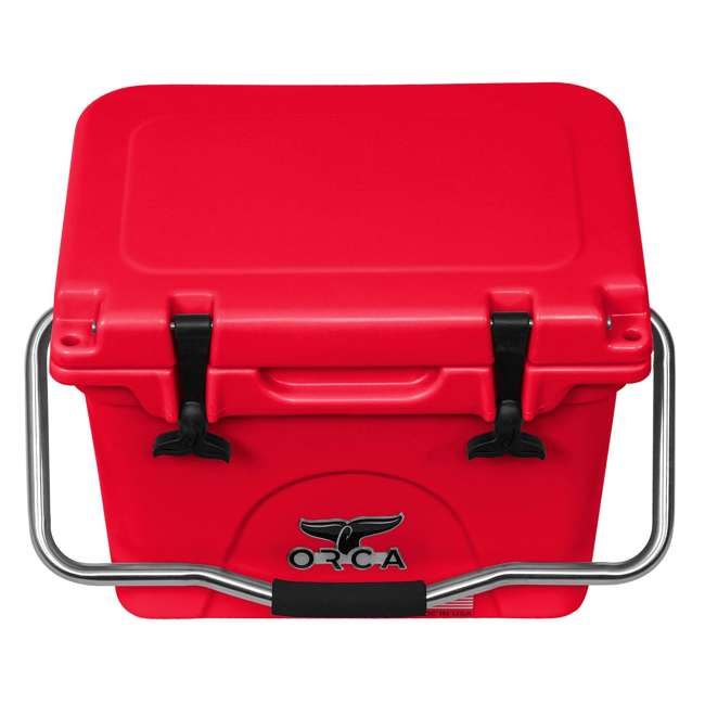 ORCRE/RE020 ORCA 20-Quart 4.16-Gallon Ice Cooler, Red 4