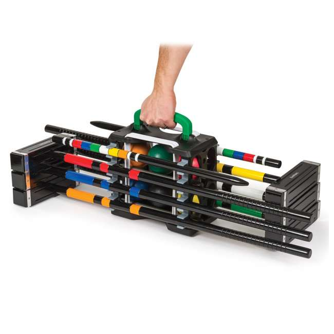 1-1-02597-DS EastPoint 6-Player Croquet Set with Caddy 1