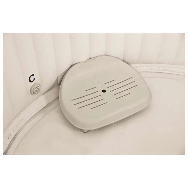 28505E + 28405E + 2 x 28502E Intex PureSpa Inflatable Hot Tub w/ Foam Headrests (2 Pack) and Removable Seats (2 Pack) 9
