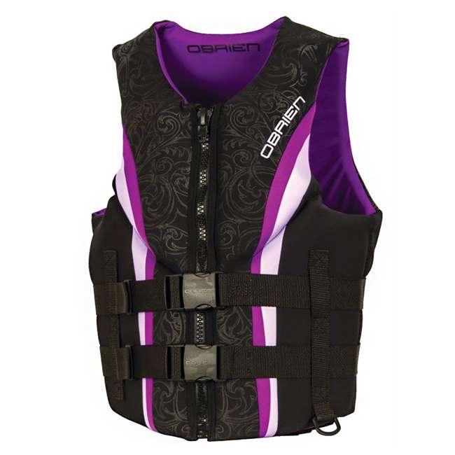 2141766-MW OBrien Womens Neo Impulse Life Vest, Adult Large (2 Pack) 1