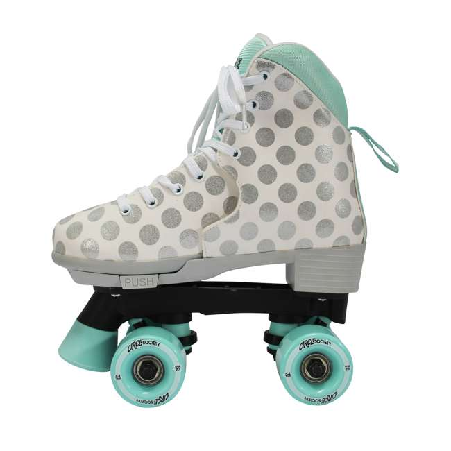168220 Circle Society Craze Sugar Drops Kids Skates, Girls Sizes 12 to 3 3