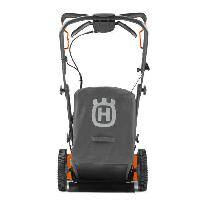 HV-WB-961450036 + HV-TOY-589289601 Husqvarna Walk Behind 21 Inch Self Propelled Gas Mower + Kids Toy Lawn Mower 3