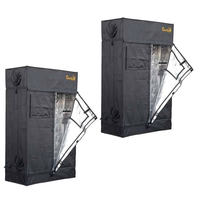 (2) Gorilla Grow Tent Lite Line 2' x 4' Greenhouse Garden Rooms | GGTLT24