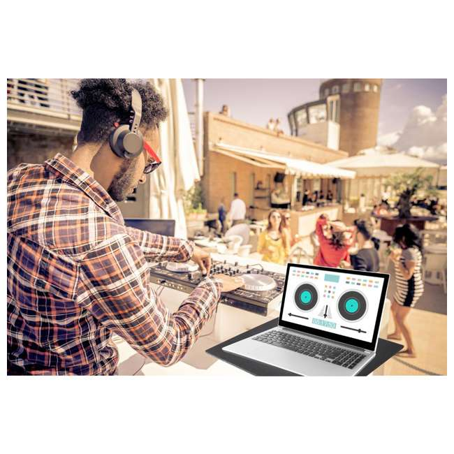 PLPTS4 Pyle Pro Universal Laptop Computer Studio DJ Mount Stand