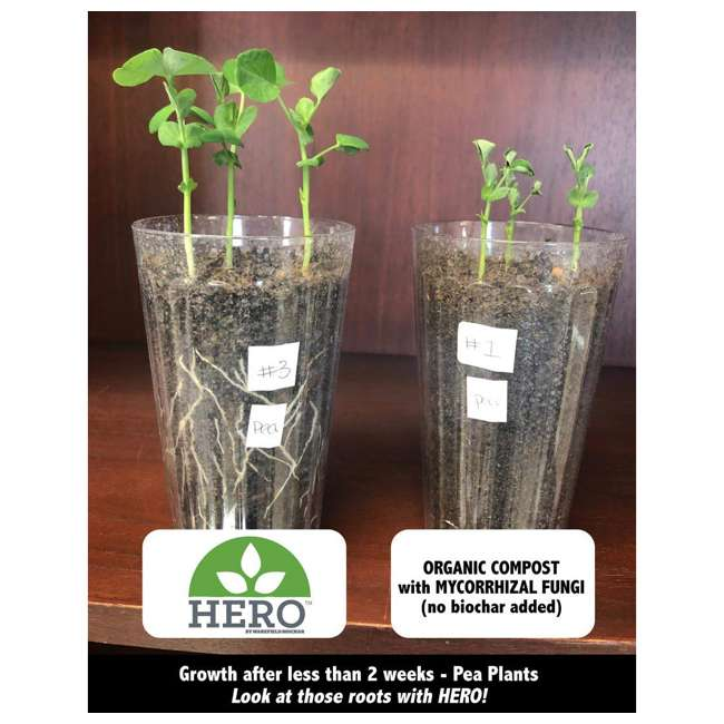 WFHERO-CMP-SM Wakefield HERO Blend 1 Gal Biochar Organic Garden Compost w/ Mycorrhizal Fungi 3