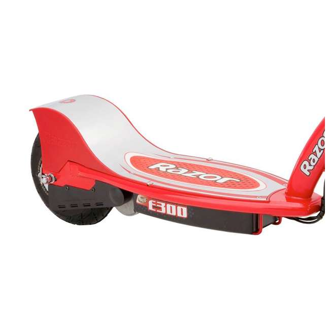 13113697 + 97778 Razor E300 Electric Red Scooter And Razor V17 Youth Helmet 3