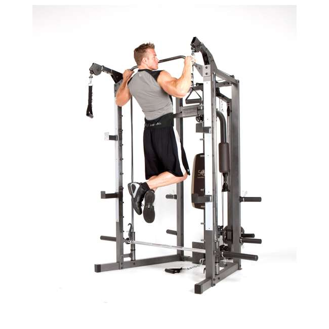 SM-4008 Marcy Combo Smith Strength Home Gym Machine 9