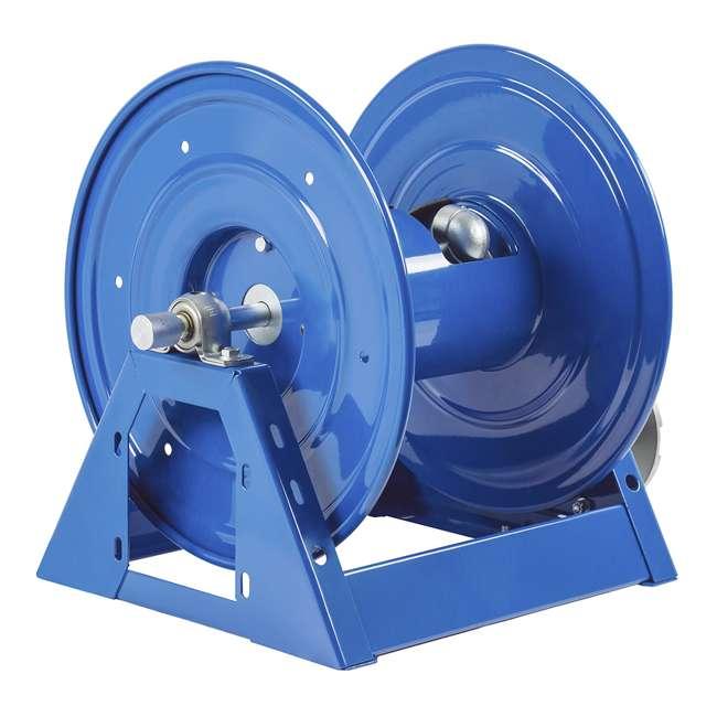 1125-4-200 Coxreels Steel Hand Crank Hose Reel 200 Foot Hose Capacity, Blue 3