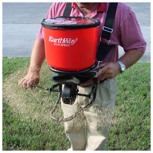 4 x EWAY3100 Earthway Commercial Hand Crank Seed Fertilizer Salt Broadcast Spreader (4 Pack) 2