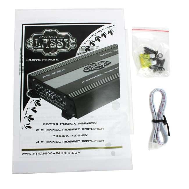PB715X Pyramid PB715X 1000W 2-Channel Amplifier 7