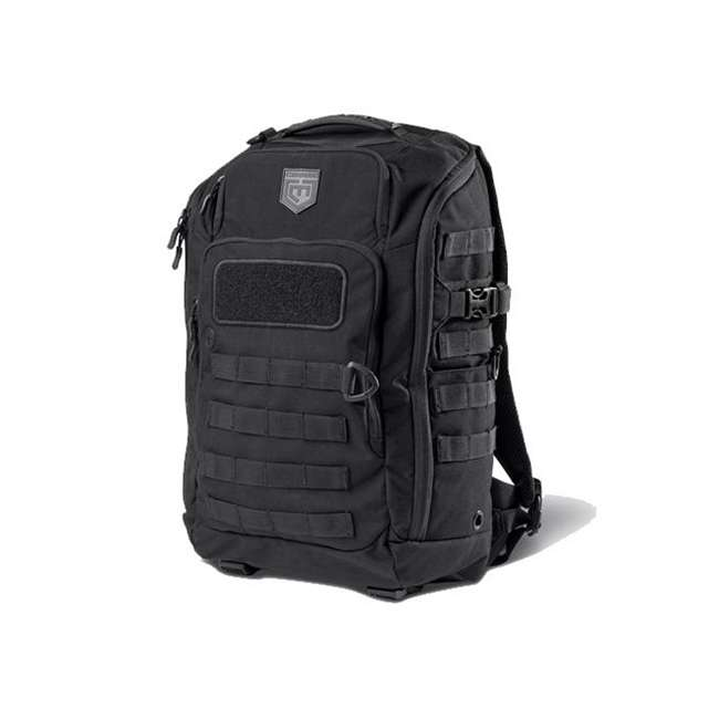 CPG-BP-LEG-M-B Cannae Pro Gear Nylon Medium 21L Legion Day Pack Backpack, Black
